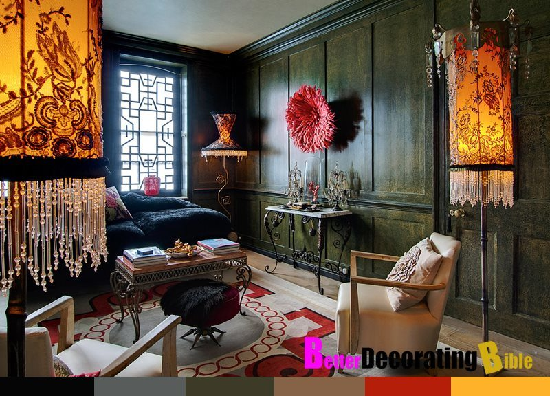 Bohemian style interior design gyspsy home how to better decorating