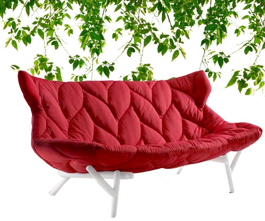 Leaf sofa by Patricia Urquiola for Kartell