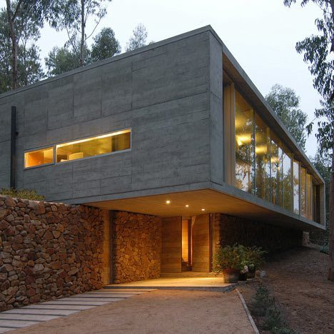 I also fell in love with this house this month- located in Chile