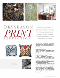 Dryseason print perfection article