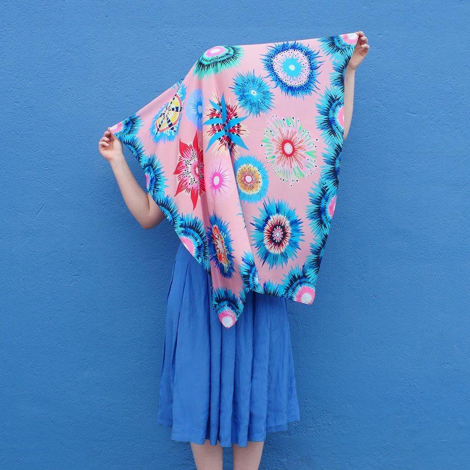 Julie-White-Straya-Nights-lookbook-Oceanic-scarf