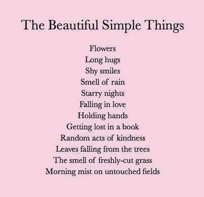 Life Love Quotes The Beautiful Simple Things Lady Darwin Design