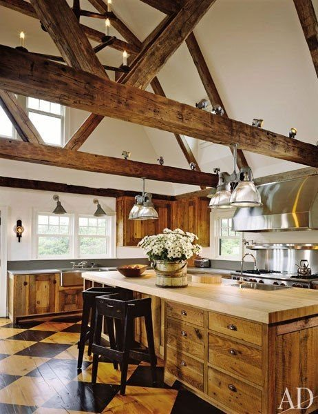 My type of rustic kitchen