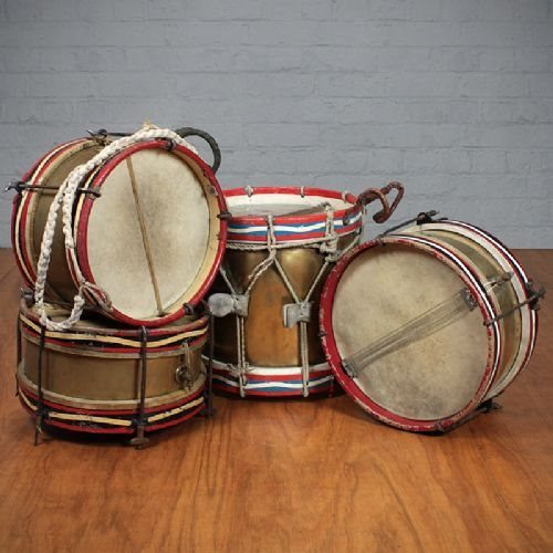 Marching drums - get it?