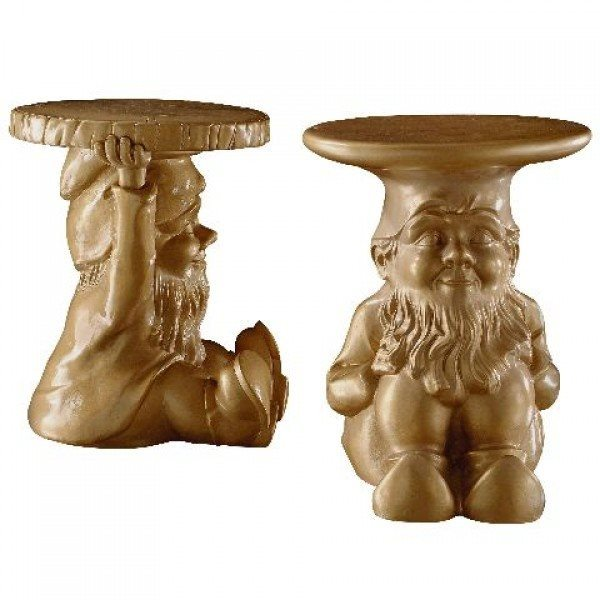 Gnome tables by Kartell (available from Space furniture)