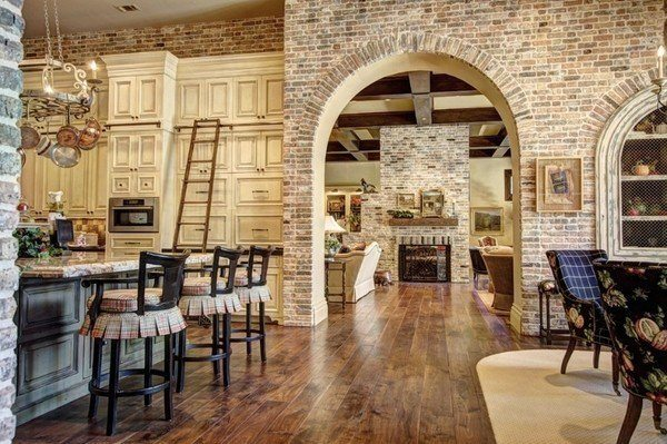 how-to-whitewash-brick-modern-home-brick-wall-accent-wall-ideas