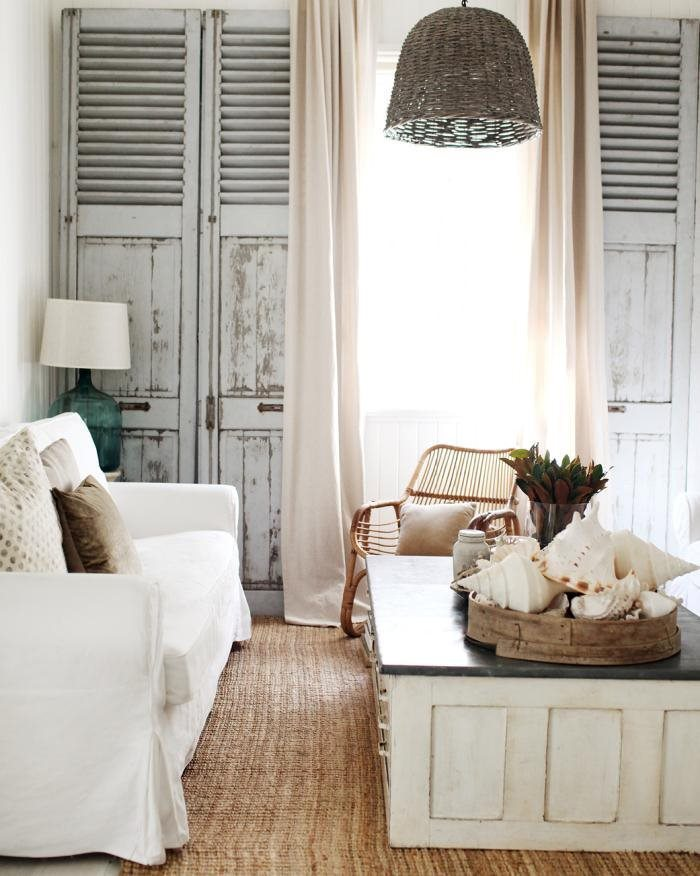 shabby chic seaside room
